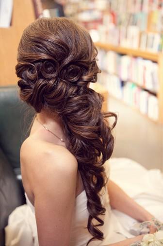 Elegantes Peinados Semirecogidos