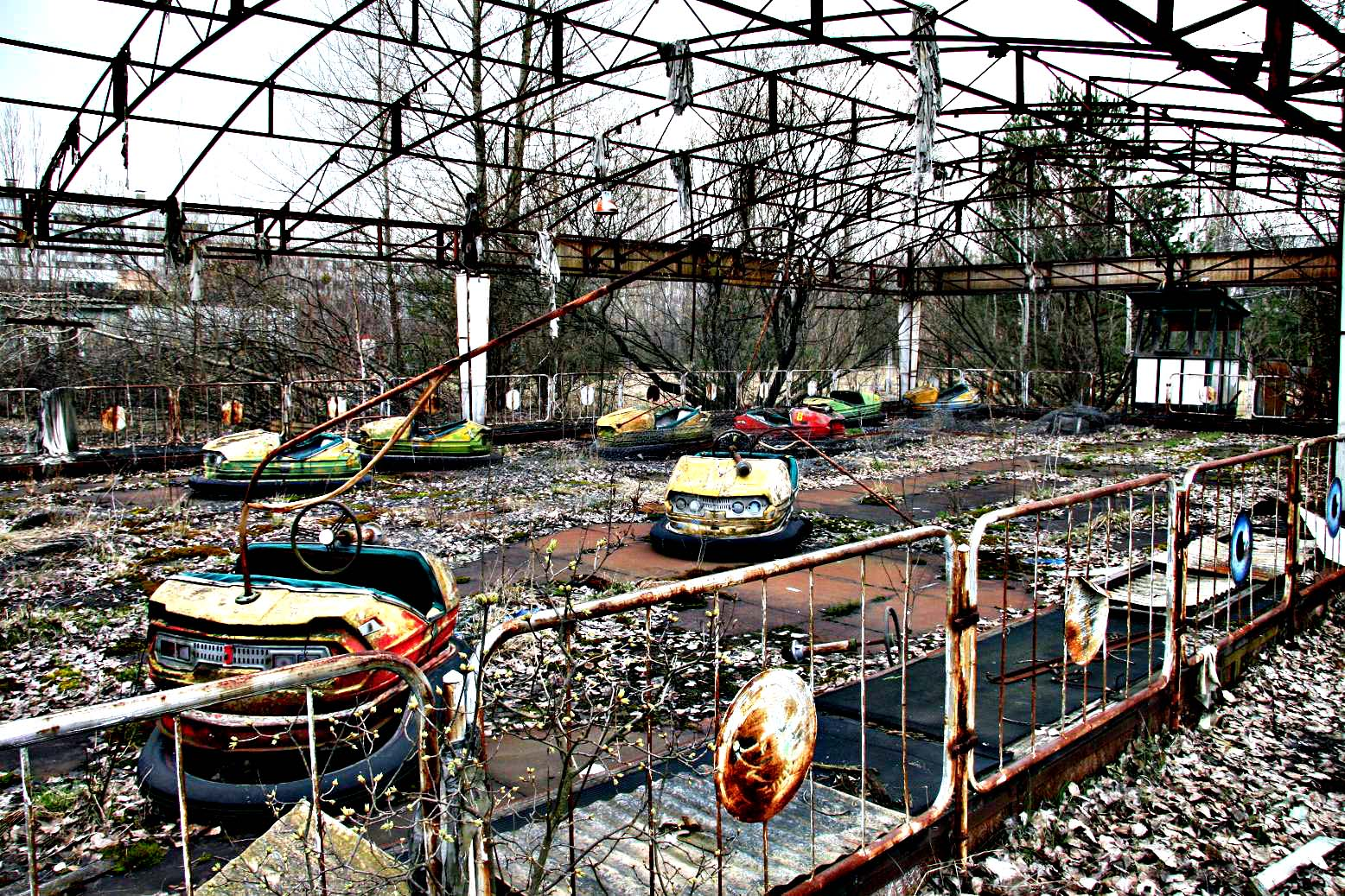 Californiu : Abandoned theme parks
