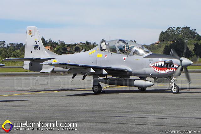 Brasil estaría negociando con Paraguay la compra de 6 aviones de ataque ligero A-29 Super Tucano.