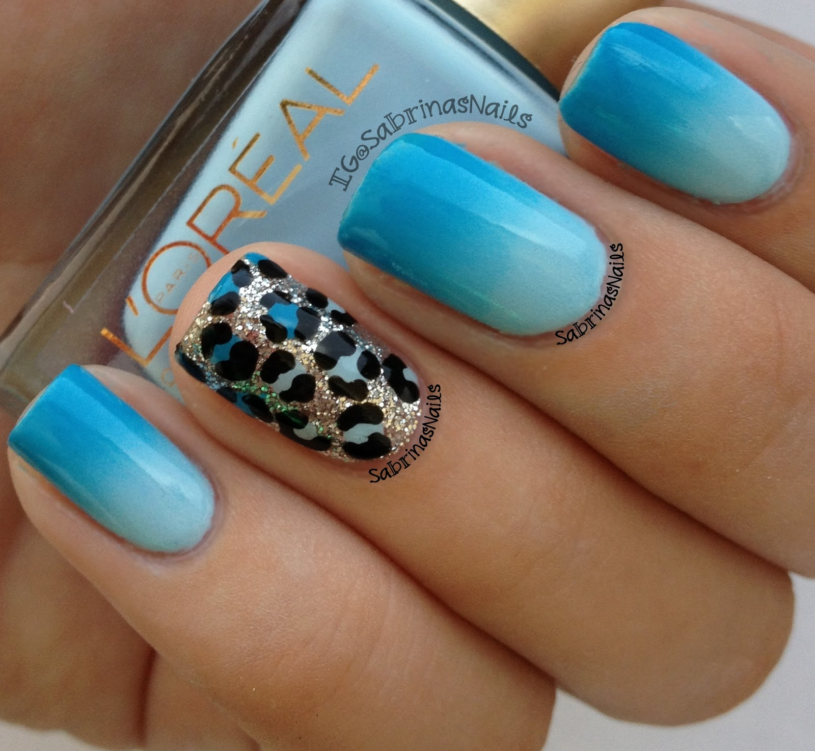 Nail Designs In Blue