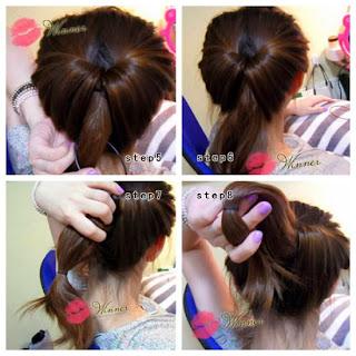 Cara Mengikat Rambut Panjang Ala Korea