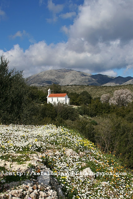 Arrival of Spring in Kefalonia