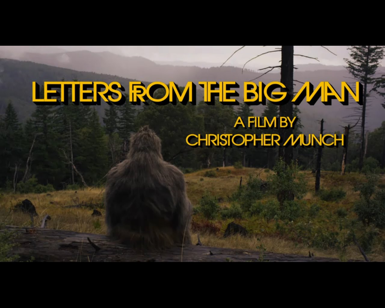Cryptomundo » Letters From The Big Man DVD Available