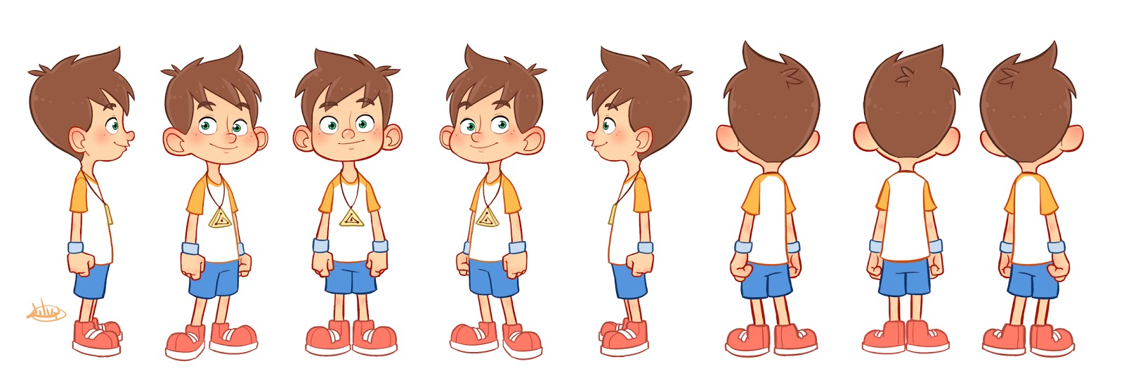 Character Design Little Boy : The art of luigi lucarelli february