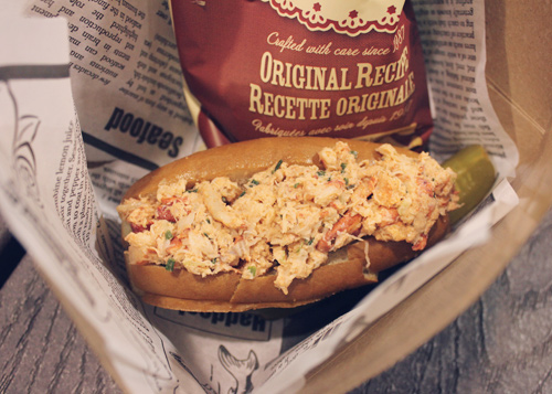 Buster's Sea Cove Lobster Roll