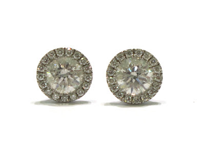Diamond Stud Earrings in Beverly Hills