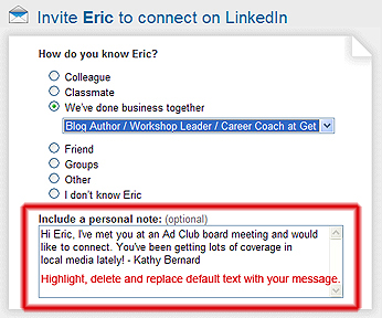 Wiserutips best ways to invite someone to connect on linkedin example of customized invitation stopboris