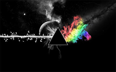 wallpapers and backgrounds music - Triangle Black Rainbow