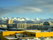 Downtown Anchorage from KAL crew hotel.