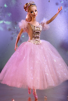 Lovely dancing Barbie girl picture