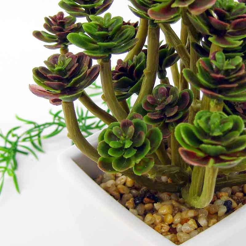 Decoração com plantas artificiais 6