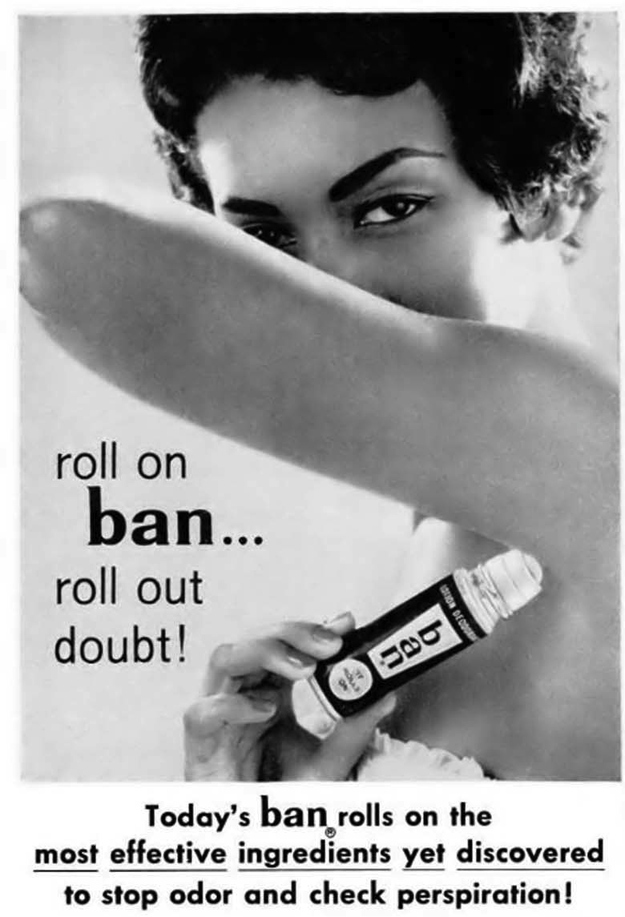 how to tell if roll on deoderant is used