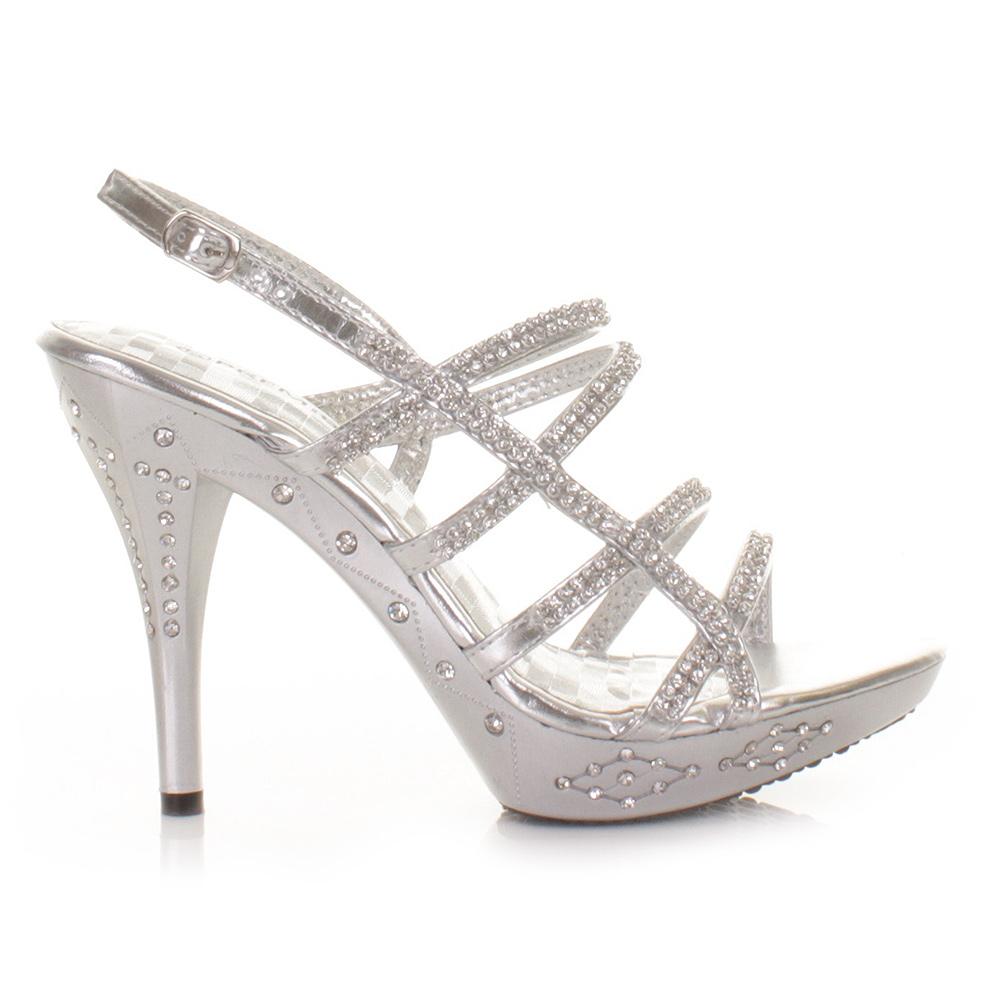 Matte Silver Dress Shoes