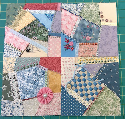 Four blocks sewn together