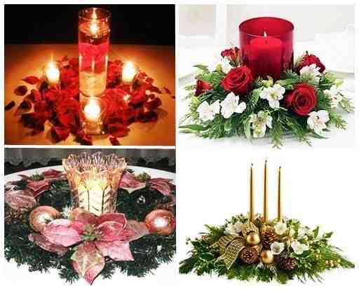 El minihogar - Como hacer un centro de mesa navideno ...