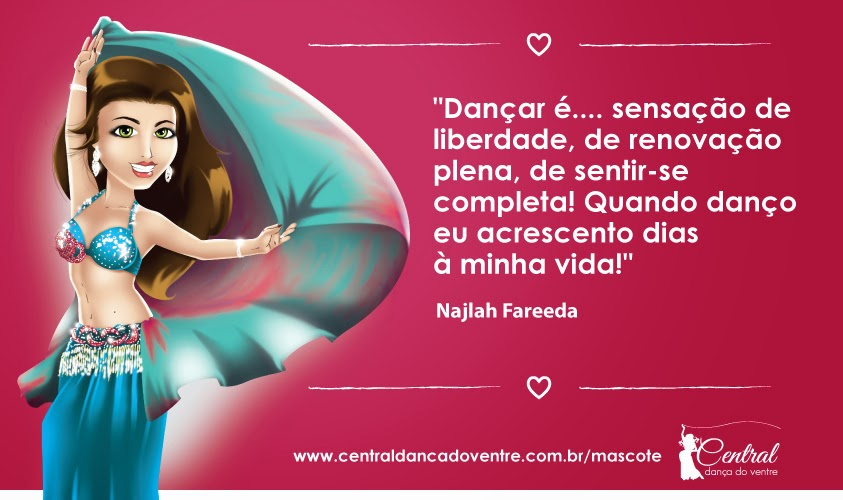 Mascote Najlinha