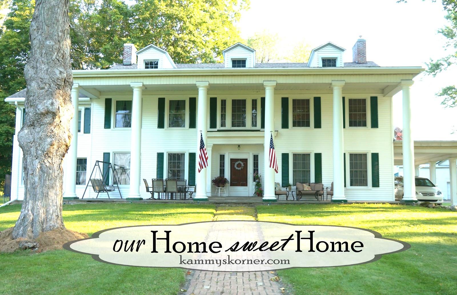 Kammy\'s Korner: Exterior Updates! Restoring The Mansion