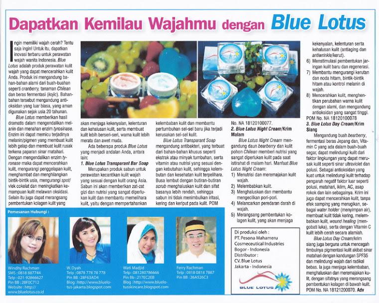 Tabloid Info Kecantikan Edisi tanggal 15 February 2012