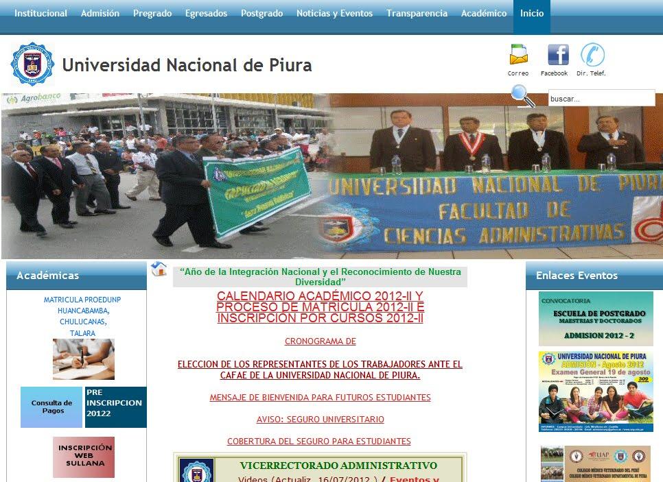 Resultados prueba de admisión 2012 3 Universidad Nacional de Piura realizada este domingo 19 de agosto.2