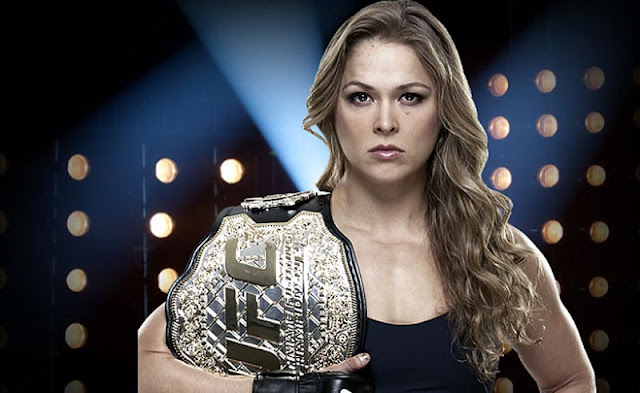 Ronda Rousey xingando e ameaçando Holly Holm
