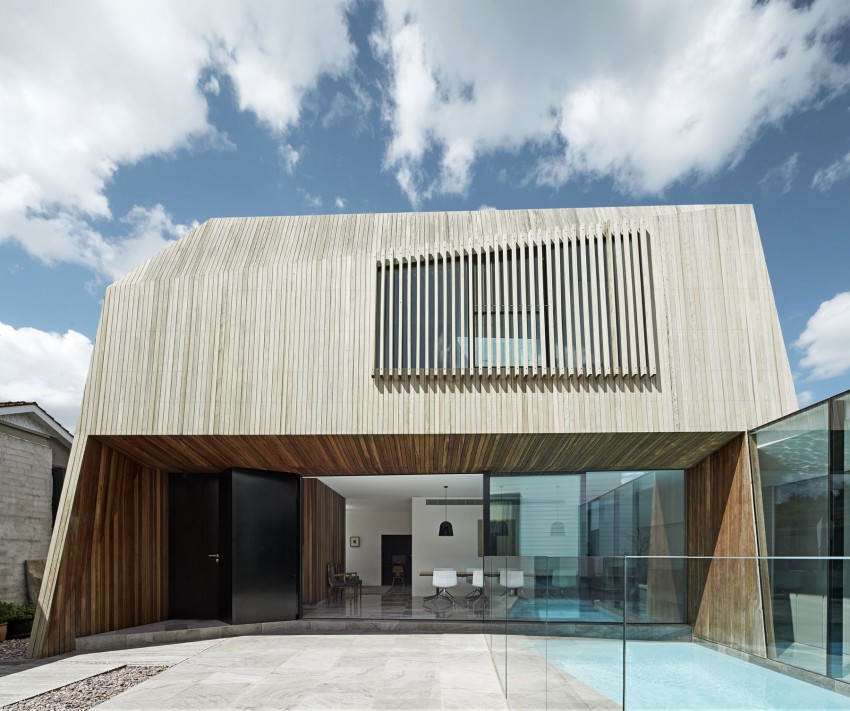House 3 Contemporary House With Wooden Facade In