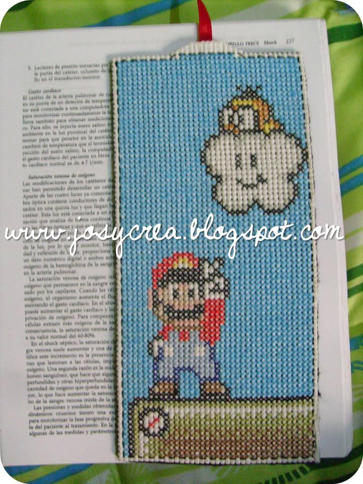 ✿JosyCrea✿.。.:* Tejido a Crochet y Más!: Marca páginas Mario Bros