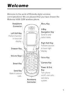 Motorola V635 GSM User Guide