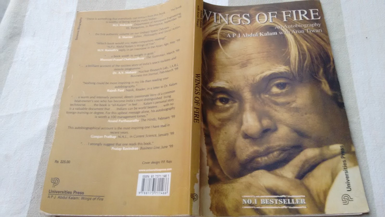 book review of wings of fire