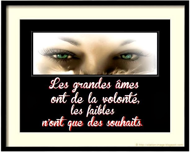 Citation et belle image