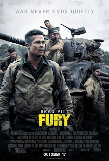 Fury (2014) Hindi Dual Audio BluRay | 720p | 480p