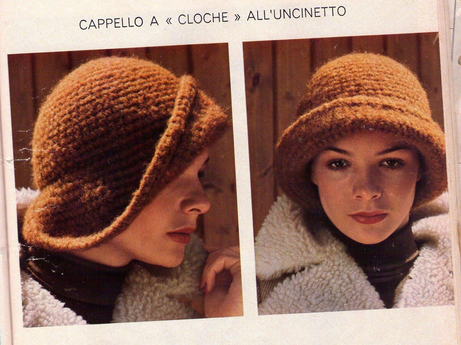Cappelli Anni 20 Uncinetto