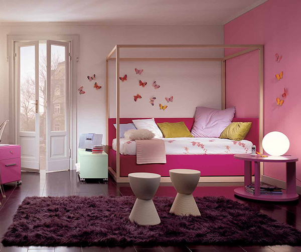 Simple Ideas For Purple Room Design | Dream House Experience
