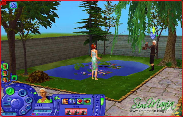 sims 4 how to make a pond
