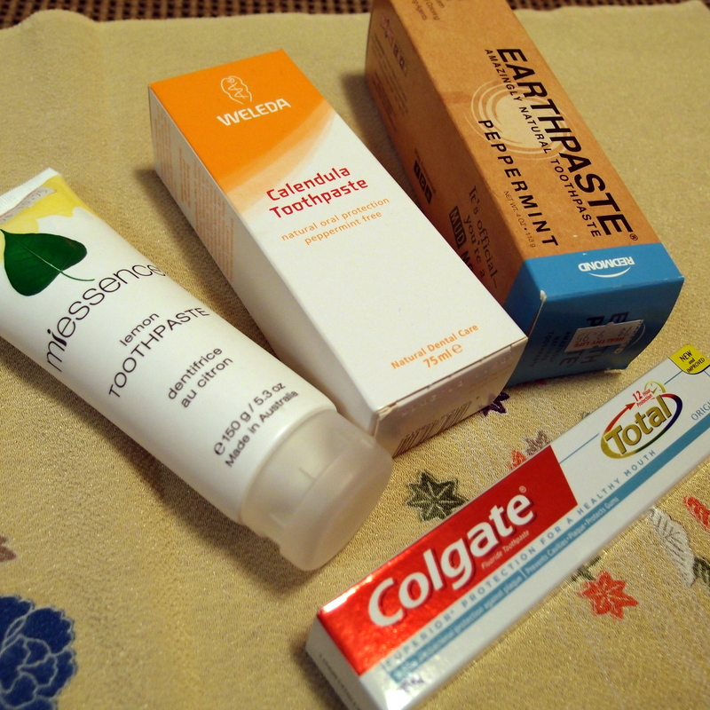 eight acres: natural toothpaste options