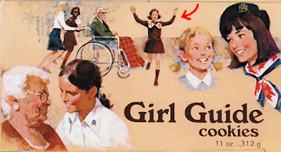 Girl Guides of Canada Girl Guide Cookie Box 1978