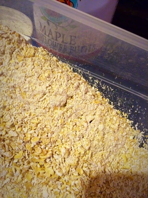 finely ground oats to use as oat flour