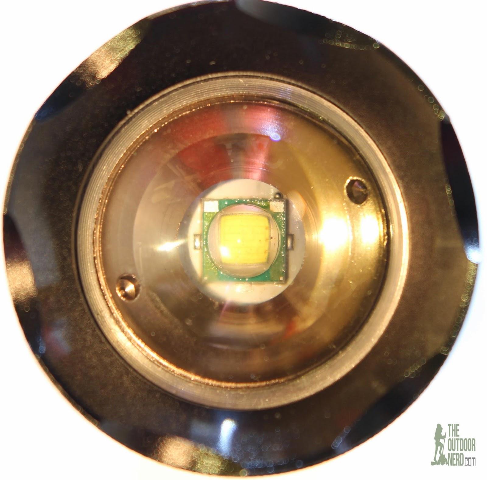 OxyLED MD50 Flashlight Kit - Cree XM-L LED Emitter Closeup