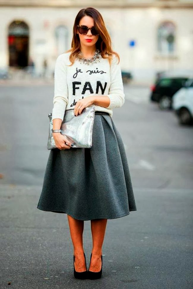 what to wear midi skirts days starry nights