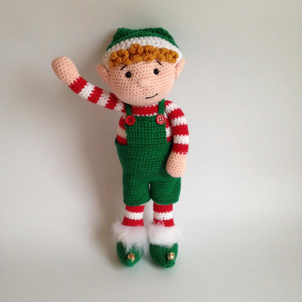 Christmas Elf - Free Crochet / Amigurumi Pattern