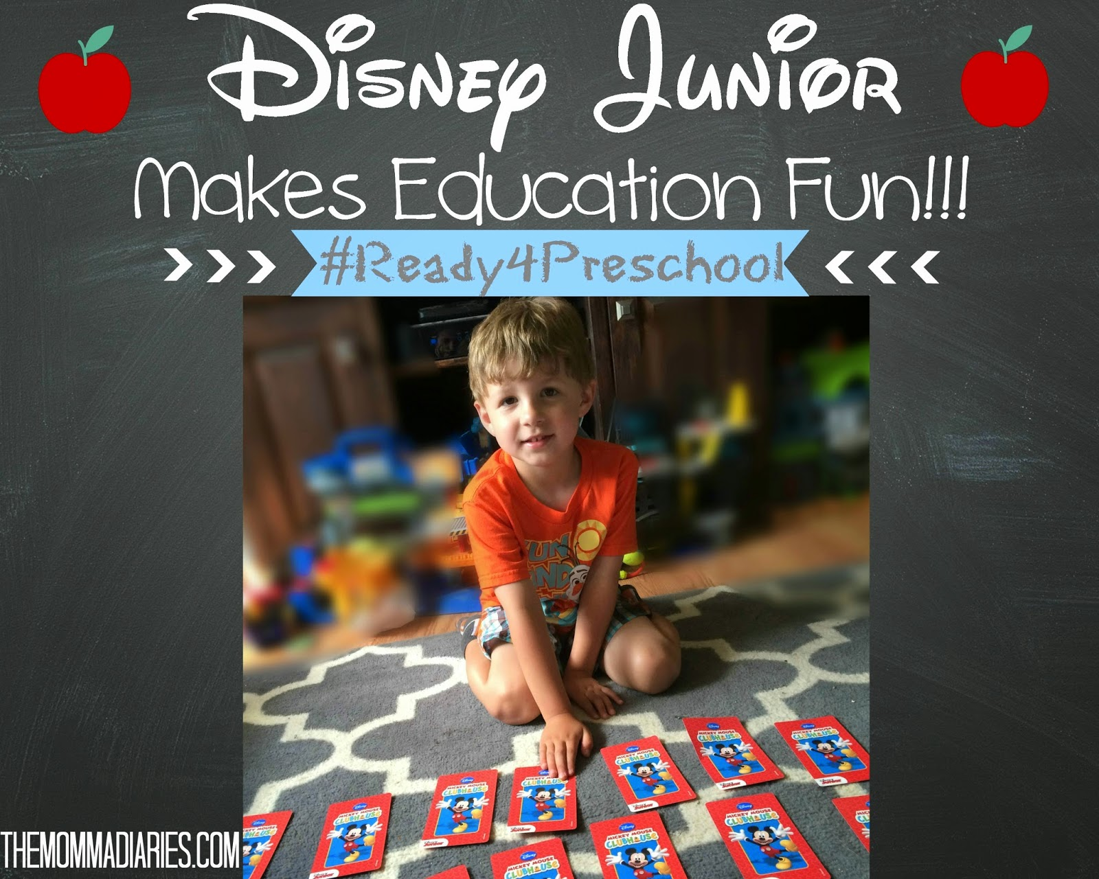 Disney Junior #Ready4Preschool