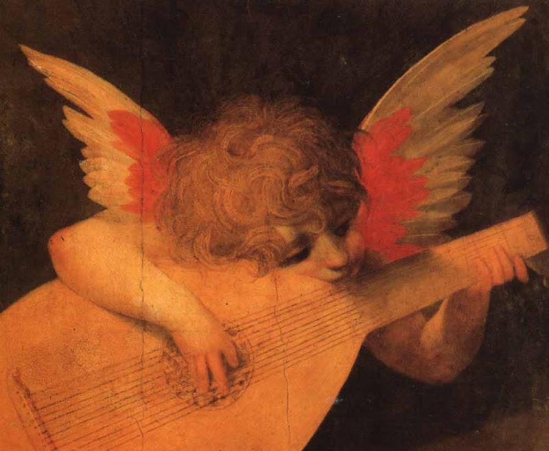 anjo tocando viola