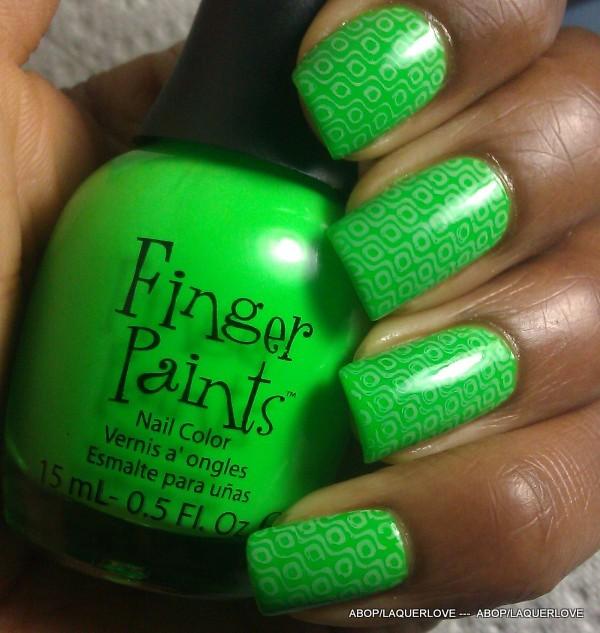 ANOTHER Bottle of Polish?!: Fingerpaints - Silkscreen Green ...