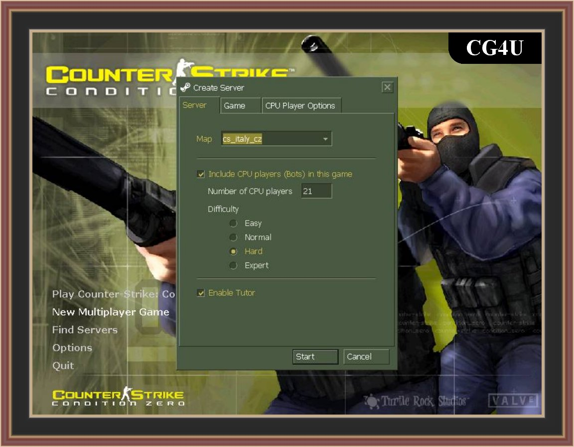 Counter Strike Condition Zero Screenshots