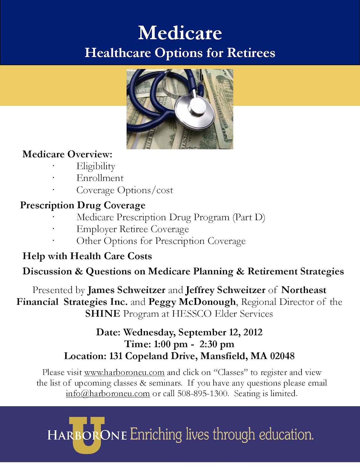 Register Today As Seating Is Limited Northeast Financial Strategies Inc  Wrentham Ma Tax, Accounting
