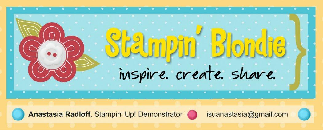 Stampin' Blondie