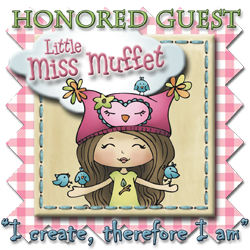 Guest designing at Little Miss Muffets!