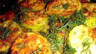 Ресторан дома | Рецепты | Кабачки запеченные с рисом и мясом