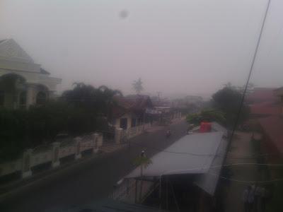 Seperti Inilah Kabut Asap Di Riau Hari Ini