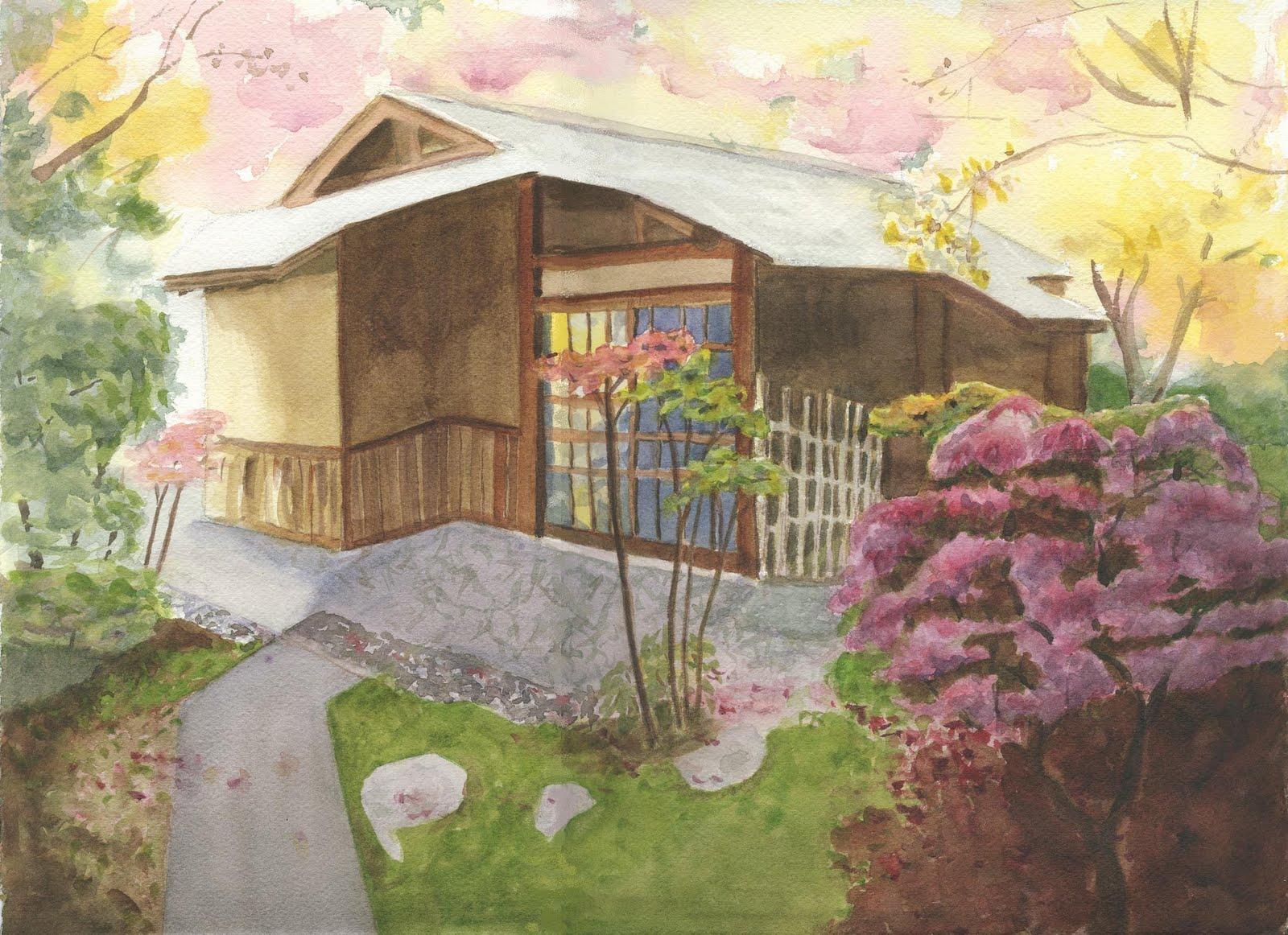 Japanese Tea Garden Backyard : Backyard Japanese Tea House Japanese tea house, japanese