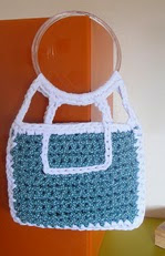 http://www.ravelry.com/patterns/library/green-polka-dot-fabric-yarn-bag